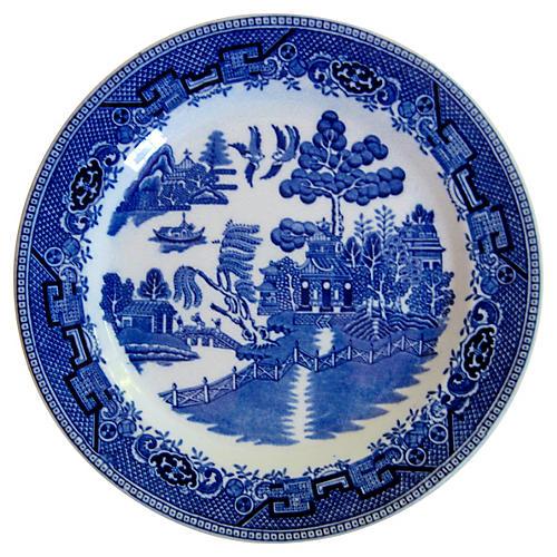 English Staffordshire Plate, 1929
