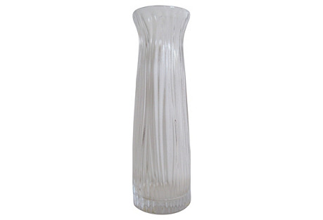 Lalique    French Crystal     Vase