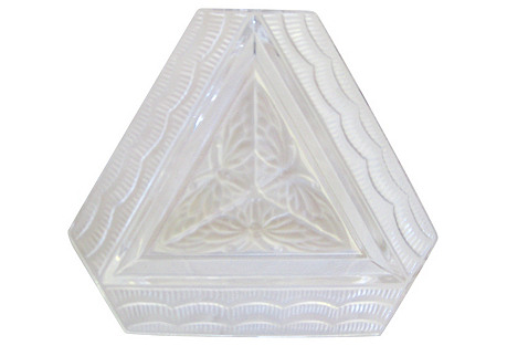 Lalique French Art Deco Tray w/ Box