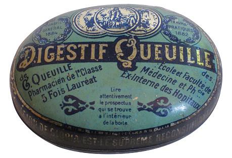 Antique French Lozenge  Box