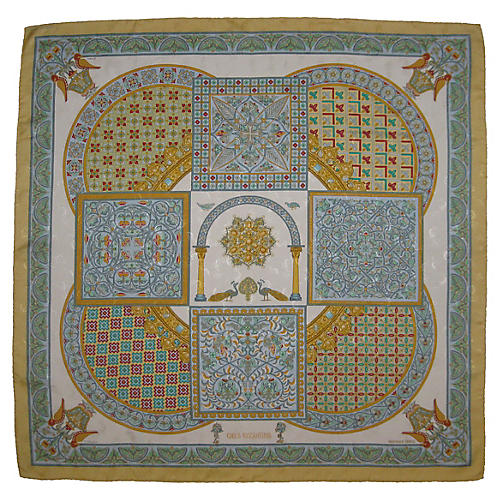 Hermès Ciels Byzantins Scarf
