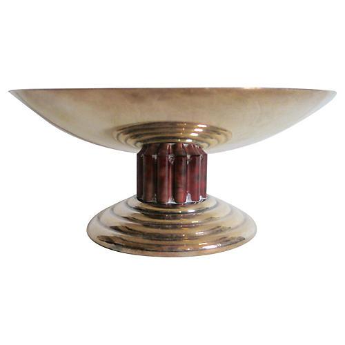 Puiforcat French Art Deco Silver Bowl