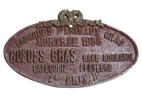 French Agricultural Medal, 1955