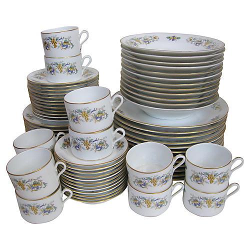 Ginori Italian Porcelain Service for 12