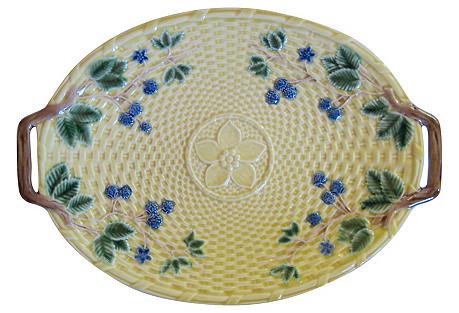 Tiffany & Co. Majolica Serving Platter
