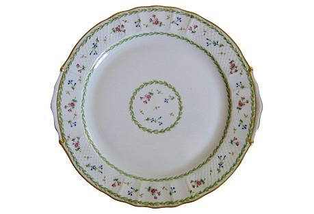 Bernardaud Limoges Artois Cake Plate
