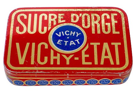 French Vichy-Etat Box