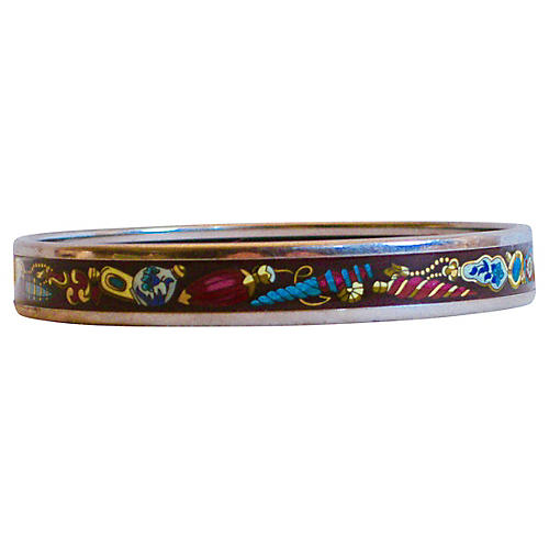 Hermès Flacons Enamel Bangle