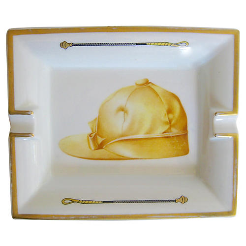 Hermès French Jockey Cap Cigar Ashtray