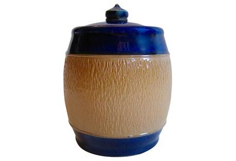 1920s Royal Doulton English Tobacco Jar