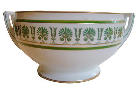 Ginori Italian Art Deco Porcelain Bowl