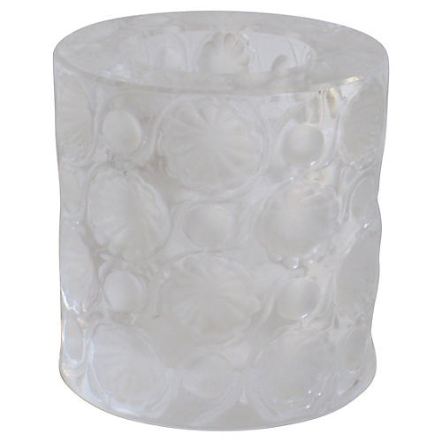 Lalique Art Deco Crystal Holder