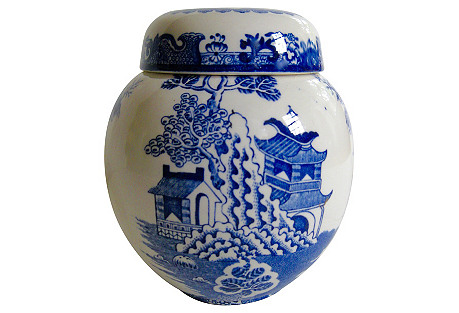 Mason's English Ironstone Ginger Jar