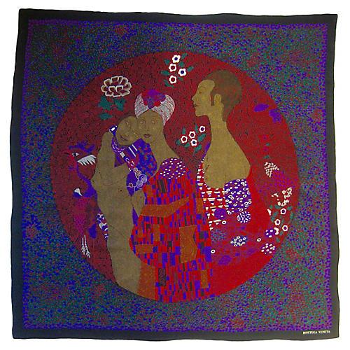 Bottega Veneta Klimt Scarf