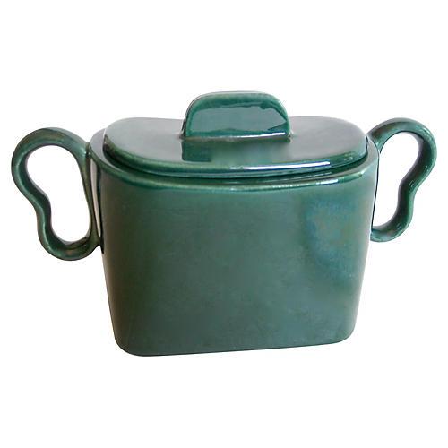 Gladding McBean Sugar Bowl, C. 1950