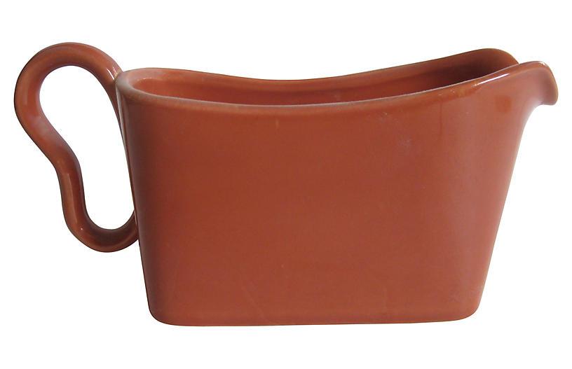 MCM California Pottery Sauce Pitcher