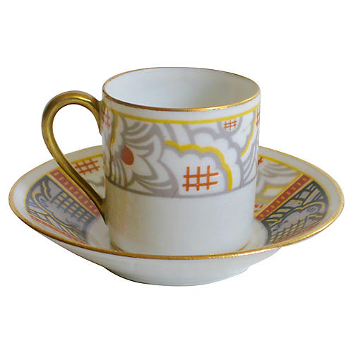 Limoges French Cup & Saucer