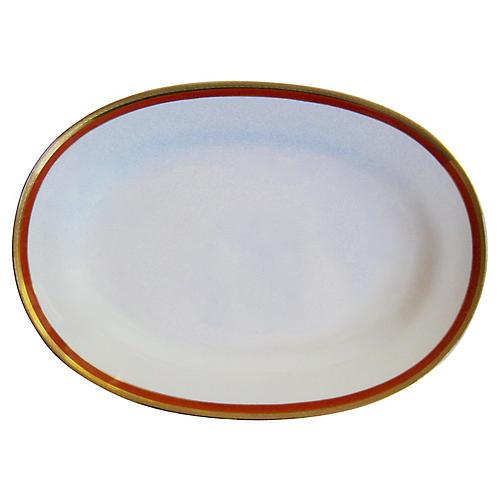 Ginori Italian Gilt Porcelain Platter
