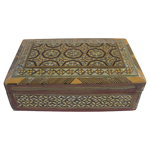 Moroccan Inlaid Box