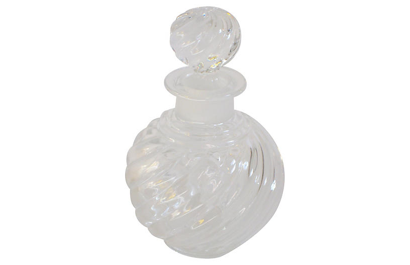 Baccarat French Crystal Perfume Bottle