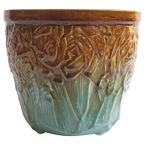 1940s McCoy Pottery Cachepot