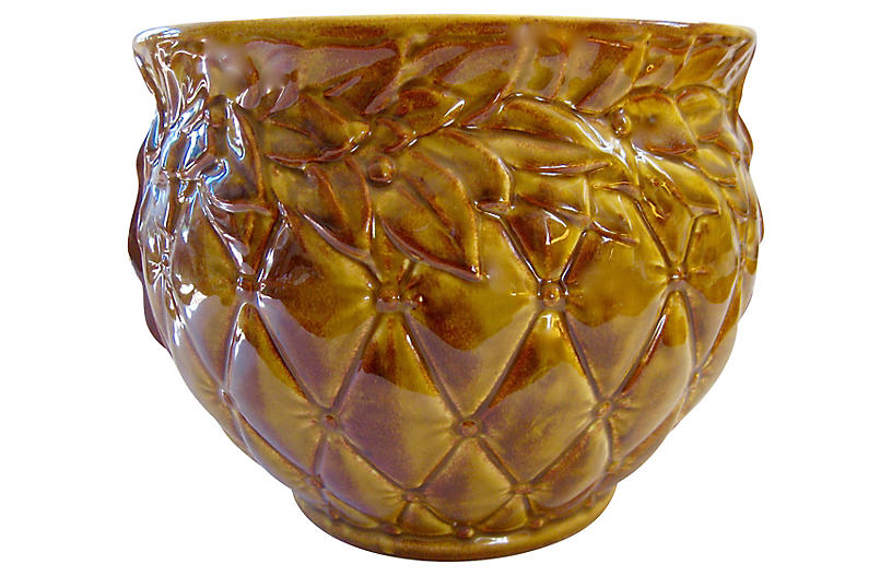 Large McCoy American Pottery Jardiniere