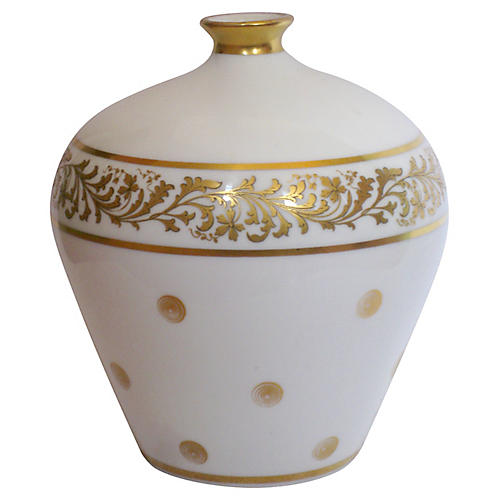 Richard Ginori Porcelain Vase