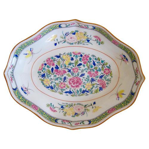 Puiforcat Limoges French Porcelain Tray