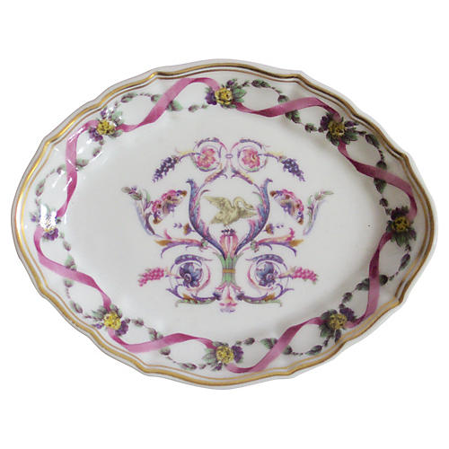 Richard Ginori Italian Porcelain Tray