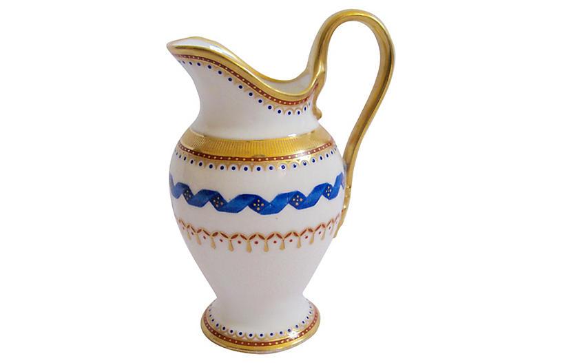 Ginori Italian Porcelain Cream Pitcher