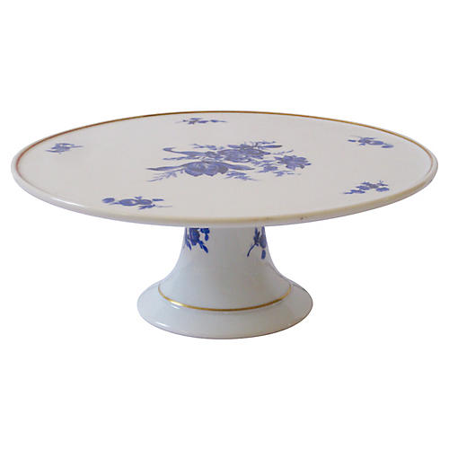 Ginori Italian Porcelain Cake Stand