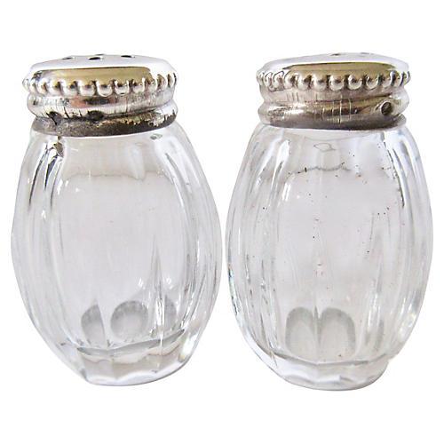Christofle Sterling Salt & Pepper