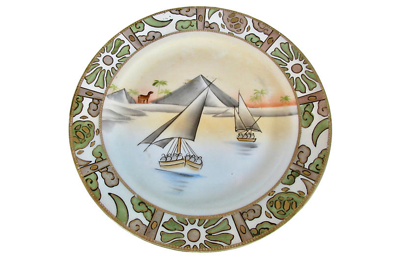 Early 1900s Japanese Plate