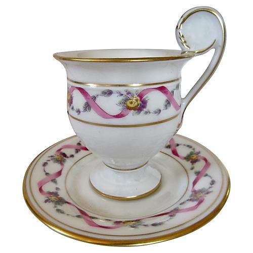 Ginori Rapallo Espresso Cup & Saucer