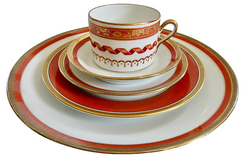 Ginori Italian Porcelain Place Setting