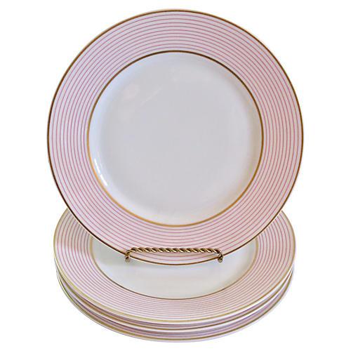 Limoges French Porcelain Dessert Plates