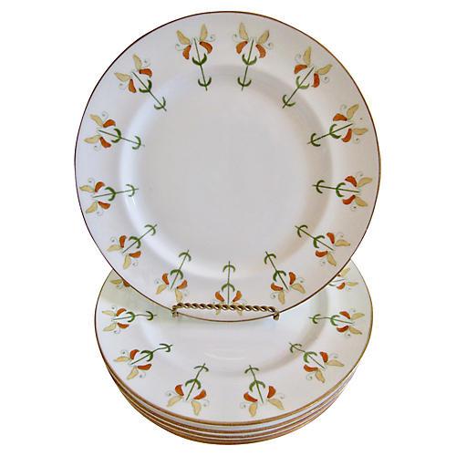 Antique English Plates, S/6