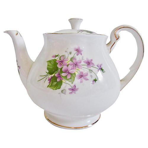 English Porcelain Teapot