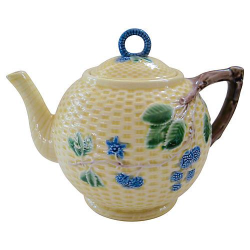 Tiffany & Co. Majolica Teapot