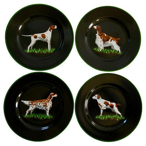 Tiffany & Co. Hunting Plates, S/4