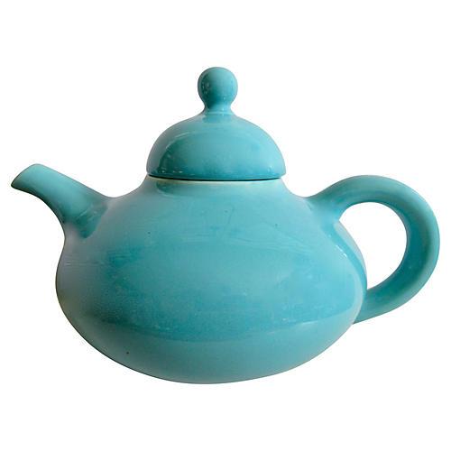1940s California Pottery Teapot