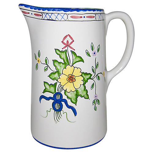 Tiffany & Co. Portuguese Faience Pitcher