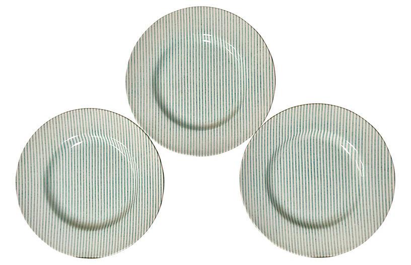 Ralph Lauren Oxford Plates, S/3