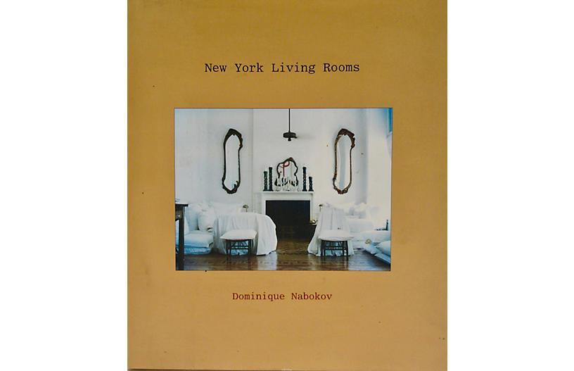 Signed 1st Edition: N.Y. Living Rooms