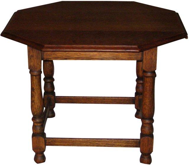 1920s Scottish Oak Table