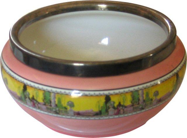 Large 1930s English Art Deco Bowl