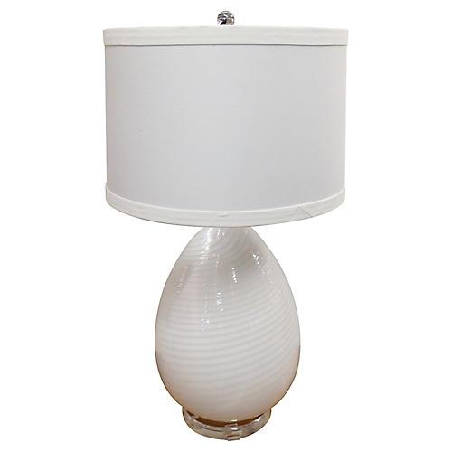 Murano Vetri Egg Table Lamp