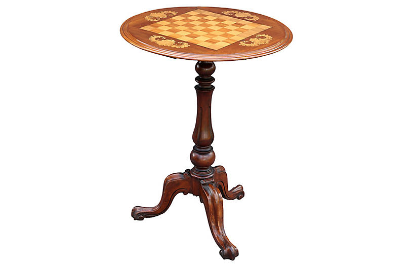 Antique Walnut Games Table Furniture Sale By Category Sale