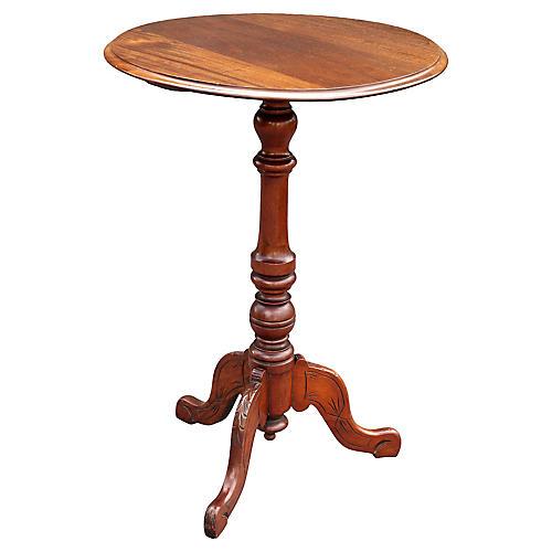 English Mahogany Wine Table