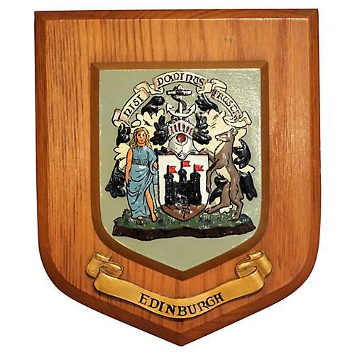 Edinburgh Crest Wall Plaque